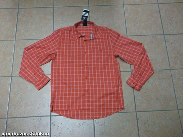01472fff8e29 Adidas pánska košeľa P09944 Trail Check LS2