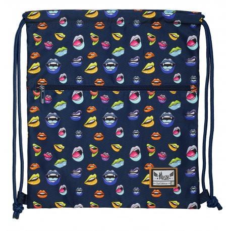 08a890a19 Luxusné vrecúško / taška na chrbát HASH® Lips, HS-186   premiosport.sk
