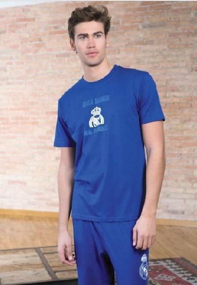 Pánske bavlnené pyžamo REAL MADRID 3dielne (RM03303ADU)  b291fc3446