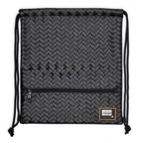 c7ec39193 Luxusné koženkové vrecúško / taška na chrbát HEAD Black, HD-350 ...