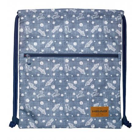 e2f776153 Luxusné vrecúško / taška na chrbát HEAD Denim Arrow, HD-392 ...