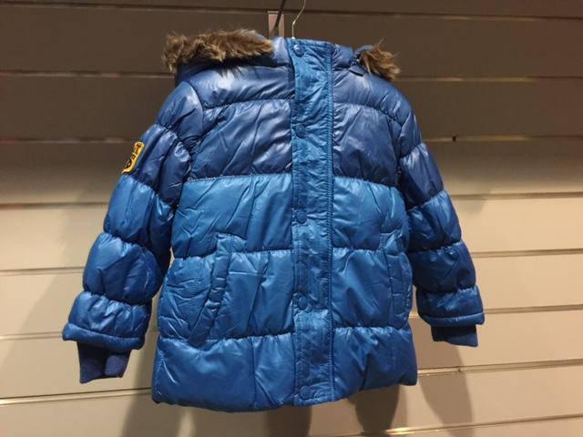 076e8f7bce78 MINOTI chlapčenská zimná bunda Puffy modrá