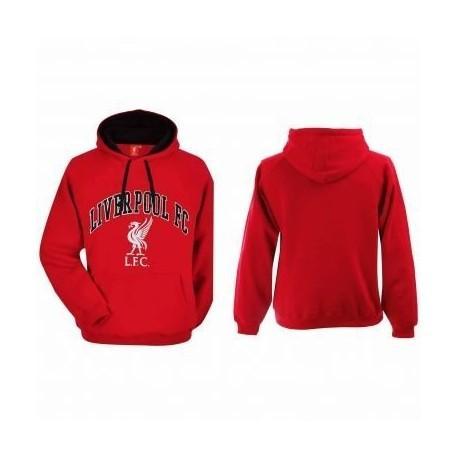 Pánska bavlnená mikina FC LIVERPOOL Red (SP5506A) - S (small) 69925ce88bd