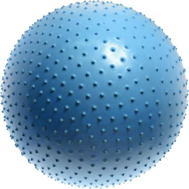 Gymnastická masážna lopta LIFEFIT MASSAGE BALL 65cm
