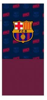 222938153813 ... Multifunkčná šatka s flísom   nákrčník FC BARCELONA - bordová