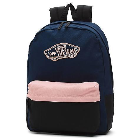 WM REALM BACKPACK DRESS BLUES/PINK