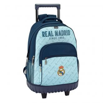 6449b6384017 ... SAFTA Školský batoh na kolieskach REAL MADRID Since 1902