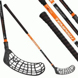 Tempish EXACT black junior florbalová hokejka